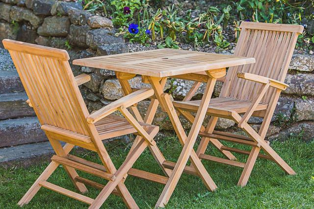 Small Teak Patio Sets