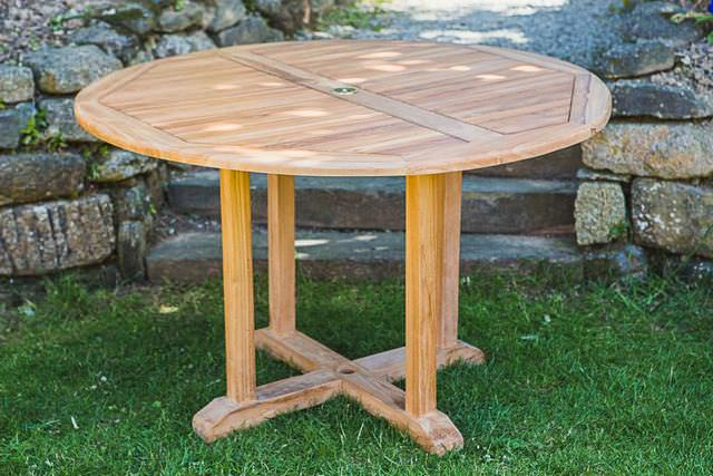 Large Teak Garden Tables