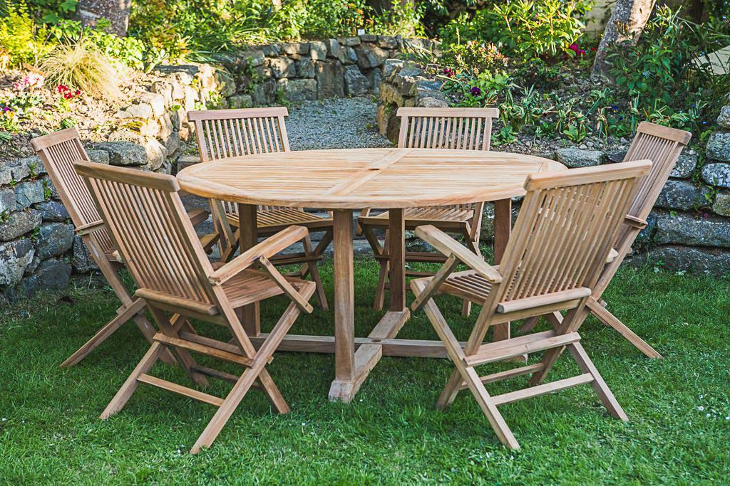 6 Seater Folding Garden Patio Sets