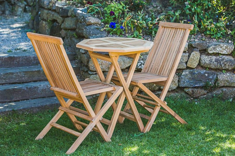 Octagonal Teak Garden Furniture Set
