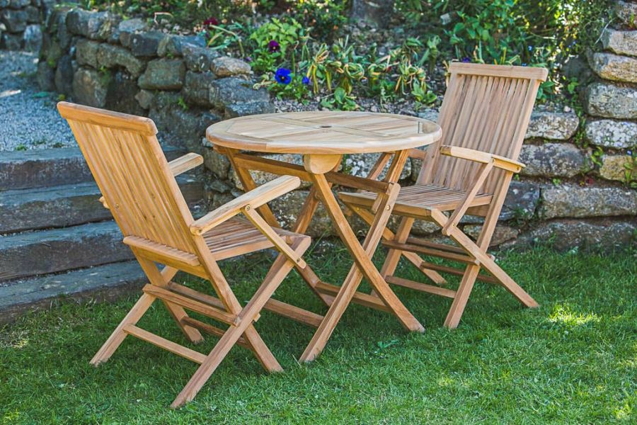 2 Seater Teak Furniture Set