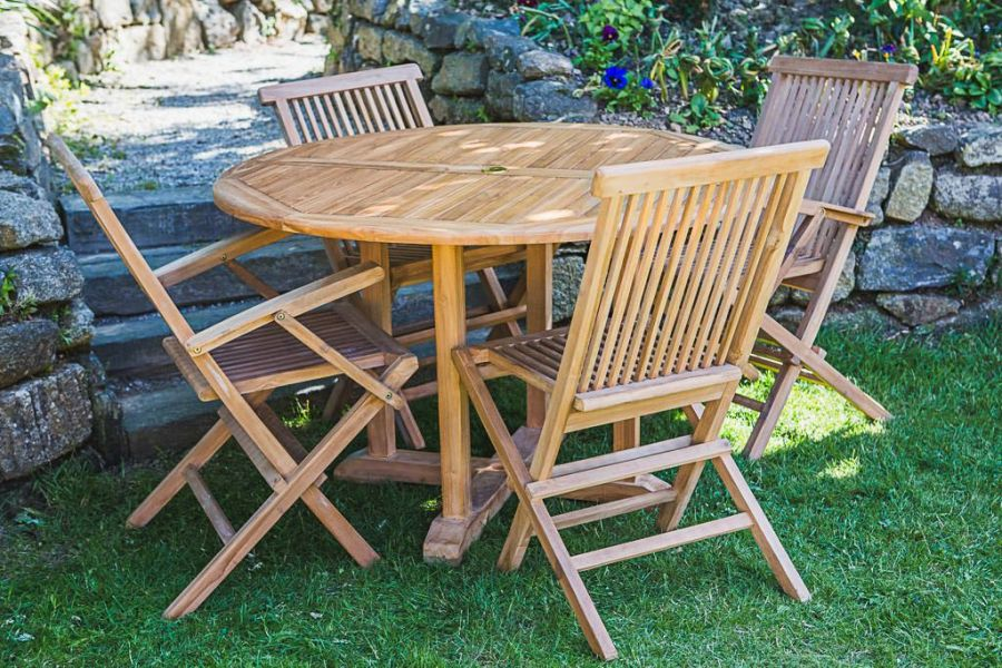 Outdoor Teak Furniture Set
