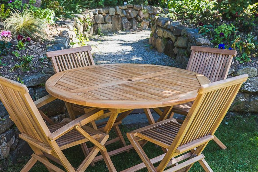 4 Seater Garden Table and Chair Set