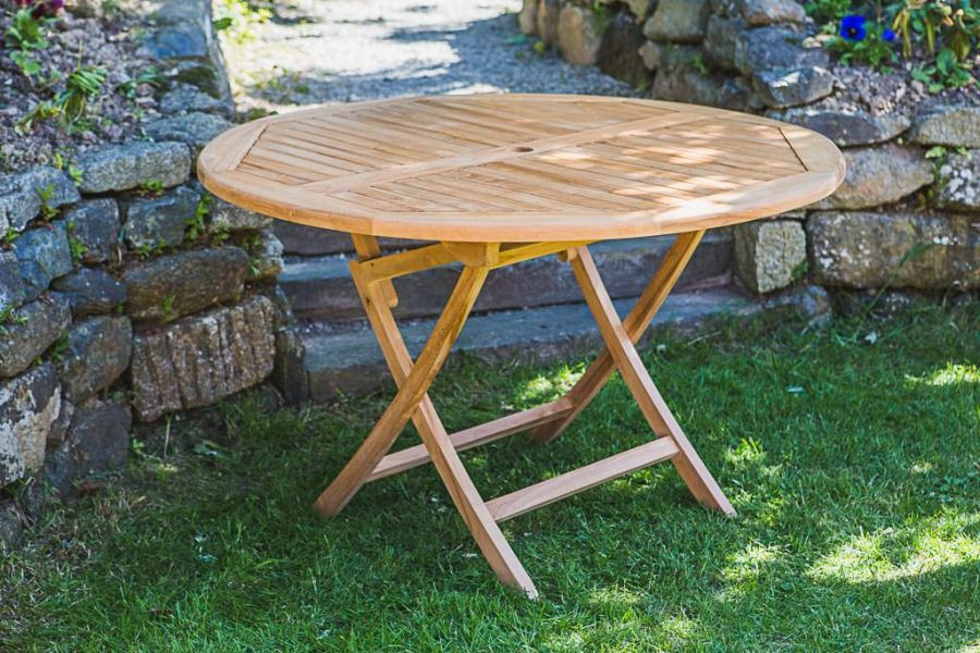 Teak Garden Table and Chair Set