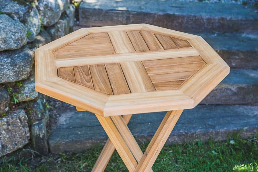 Octagonal Folding Garden Table