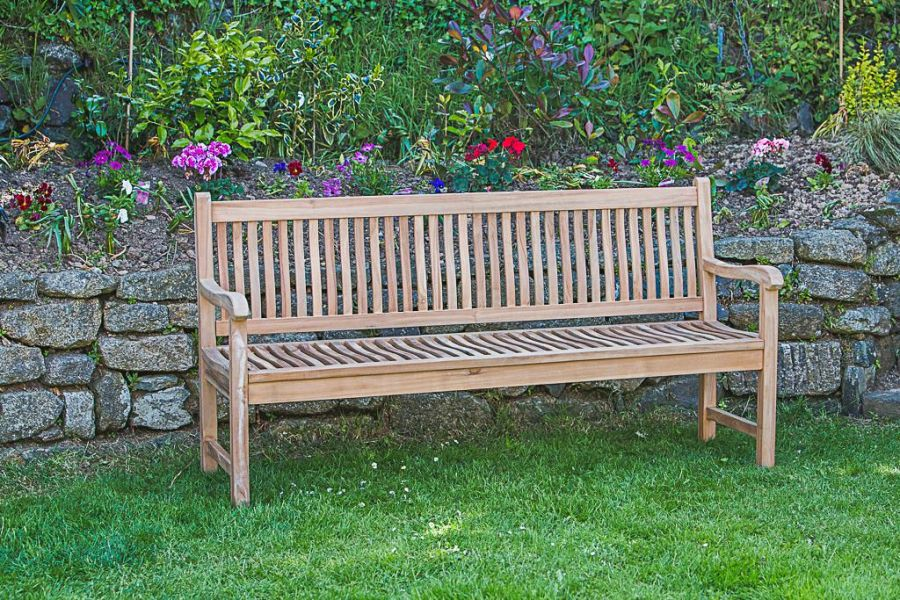 Teak Commemorative Bench