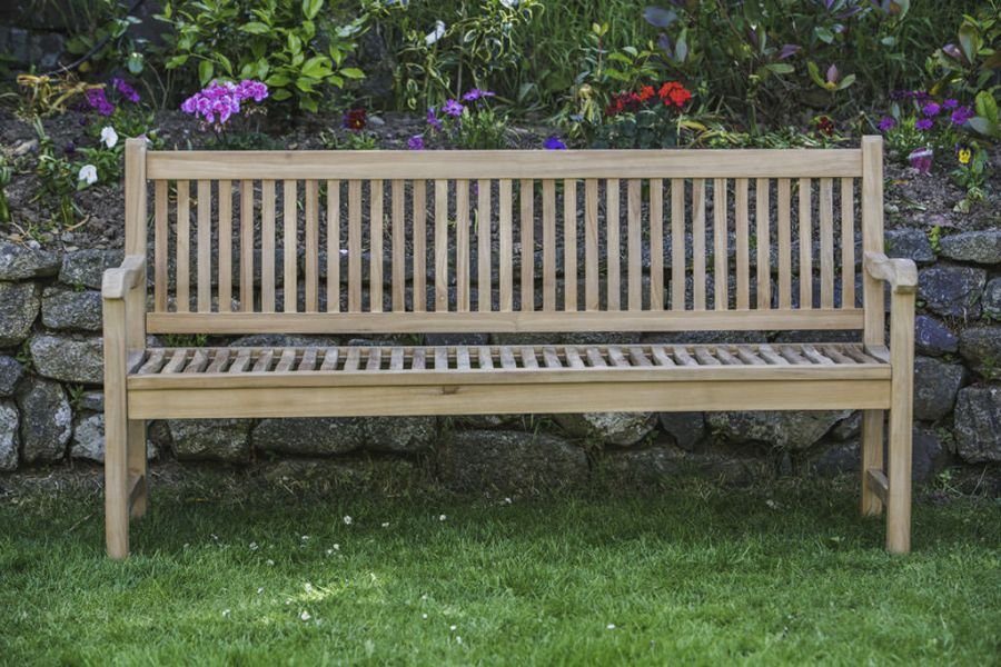 Teak Commemorative Garden Bench
