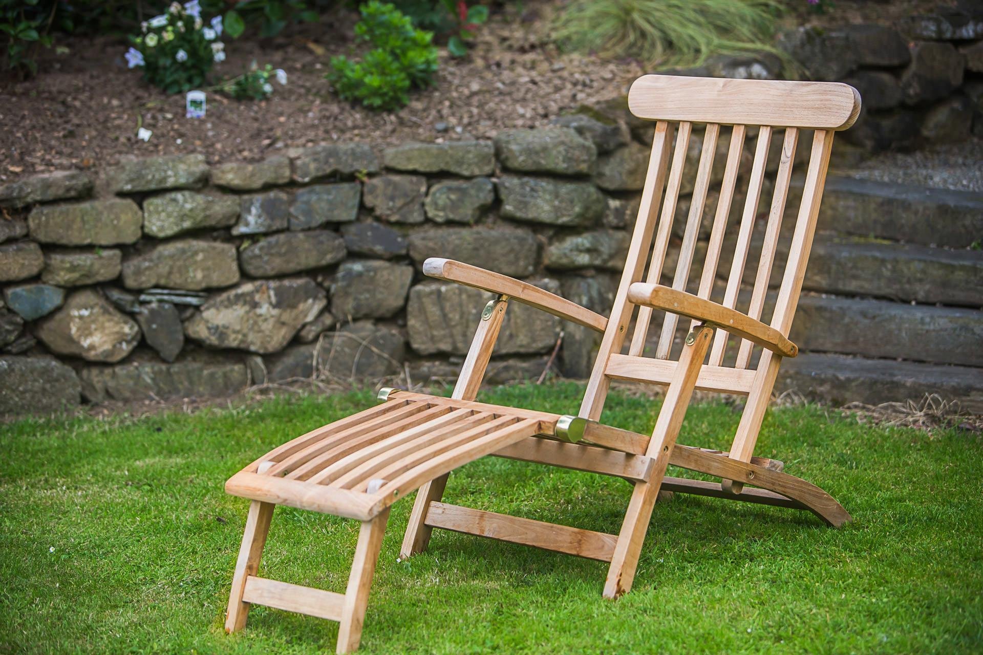 Wooden Steamer Chairs
