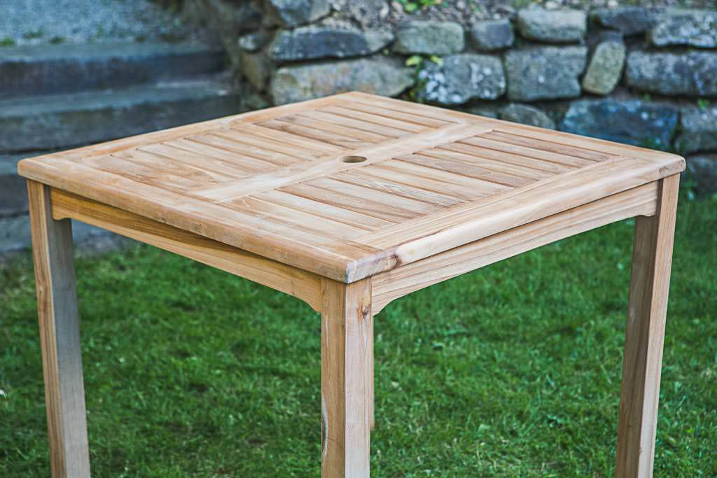 Square Garden Tables